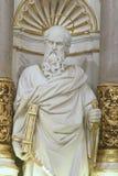 Statua dell'apostolo St Paul Fotografia Stock Libera da Diritti