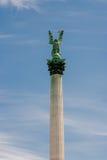 Statua dell'arcangelo Gabriel Fotografie Stock Libere da Diritti