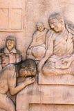 statua dell'arenaria Fotografia Stock Libera da Diritti