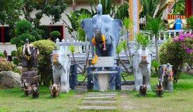 Statua dell'elefante Fotografia Stock