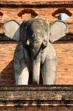 Statua dell'elefante dell'Asia della Tailandia Fotografie Stock