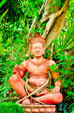 Statua dell'eremita Fotografie Stock Libere da Diritti