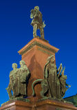 Statua dell'imperatore Alessandro II Immagini Stock