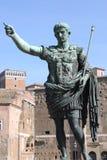 Statua dell'imperatore Augustus fotografie stock libere da diritti