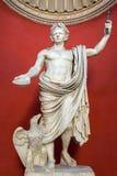 Statua dell'imperatore Claudio nel museo del Vaticano Fotografia Stock Libera da Diritti