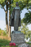 Statua dell'infante Christina, Tonsberg - Norvegia immagini stock