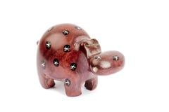 Statua dell'ippopotamo fotografia stock