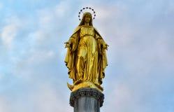 Statua dell'oro Fotografia Stock Libera da Diritti