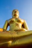 Statua dell'oro del Buddha Fotografia Stock Libera da Diritti