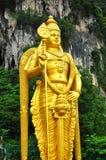 Statua dell'oro di indù Fotografia Stock