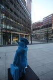 Statua dell'orso di Paddington a Londra Fotografia Stock Libera da Diritti