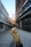 Statua dell'orso di Paddington, Londra Fotografia Stock Libera da Diritti