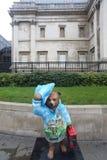 Statua dell'orso di Paddington, Londra Immagini Stock Libere da Diritti