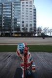 Statua dell'orso di Paddington a Londra in Maida Vale Fotografie Stock Libere da Diritti