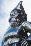 Statua della bambola del Babbo Natale Fotografia Stock Libera da Diritti