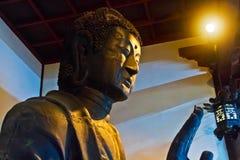 Statua della bodhisattva immagini stock libere da diritti