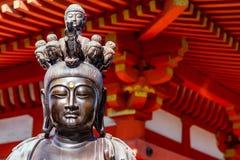 Statua della bodhisattva fotografia stock
