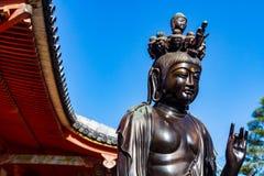 Statua della bodhisattva fotografie stock libere da diritti