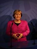 Statua della cera di Angela Merkel Immagini Stock Libere da Diritti