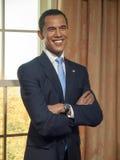 Statua della cera di Barack Obama Fotografia Stock