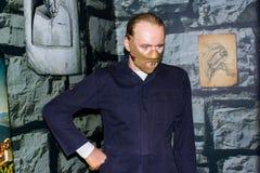 Statua della cera di Hannibal Lecter, Amsterdam di signora Tussaud fotografie stock