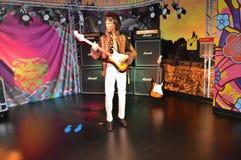 Statua della cera di Jimi Hendrix Fotografie Stock Libere da Diritti