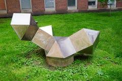 Statua della città universitaria di UIUC Immagini Stock