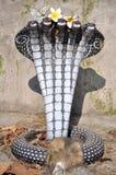 Statua della cobra Immagini Stock
