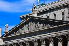 Statua della corte Fotografia Stock
