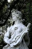 Statua della crisalide di musica Fotografie Stock Libere da Diritti
