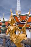Statua della dea di Royal Palace in Bankok Fotografie Stock