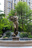 Statua della dea di Sun Fotografia Stock