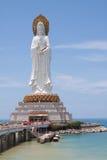 Statua della dea Gualin nel tempiale buddista Immagine Stock