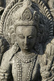 Statua della dea indù Immagine Stock Libera da Diritti