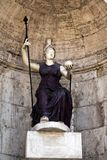 Statua della dea Roma Immagine Stock Libera da Diritti