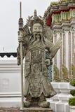 Statua della divinità in Wat Pho bangkok thailand fotografia stock libera da diritti