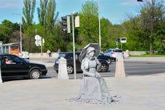 Statua della donna Immagini Stock Libere da Diritti