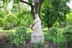 Statua della donna della città di Arad Fotografia Stock