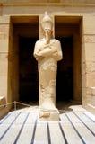 Statua della figura di pharaoh Fotografie Stock Libere da Diritti