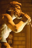 Statua della fontana Fotografia Stock