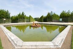 Statua della fontana della flora Immagine Stock Libera da Diritti