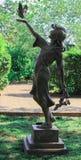 Statua della Giardino-ragazza di Daniel Stowe Fotografia Stock