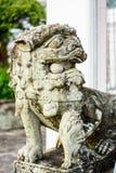 Statua della Leone-Cina. 5 Immagine Stock Libera da Diritti