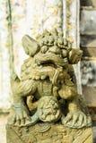 Statua della Leone-Cina. 6 Fotografie Stock