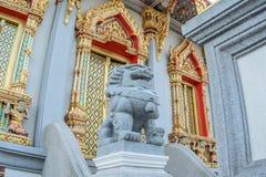 Statua della Leone-Cina. 8 Immagine Stock Libera da Diritti