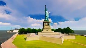 Statua della libertà, Liberty Island Fotografia Stock