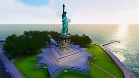 Statua della libertà, Liberty Island Fotografia Stock Libera da Diritti