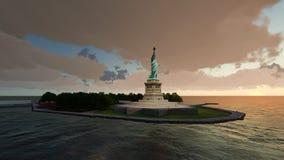 Statua della libertà, Liberty Island Immagini Stock