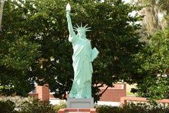Statua della libertà a Ocala, parco del veterinario di Florida Fotografie Stock Libere da Diritti