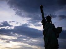 Statua della libertà a Odaiba, Tokyo fotografie stock